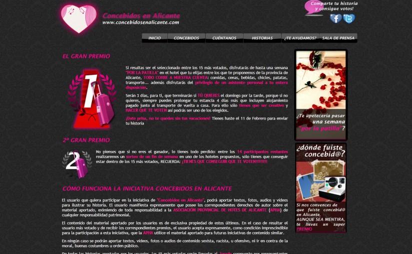 Concebidos en Alicante: El premio